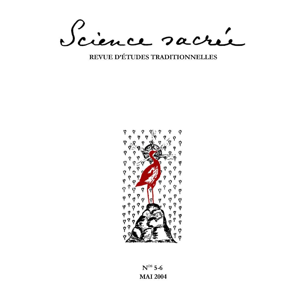 Science sacree n 5 6 1ere de couverture